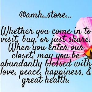 Follow Us @Amh_Store